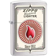 Zippo Trading Cards, Brushed Chrome Classic