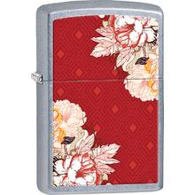 Zippo Floral, Street Chrome Classic