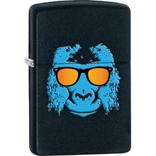 Zippo Ape with Shades, Black Matte Classic