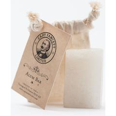 Captain Fawcett Traditional Alum Bar, Shave Soap