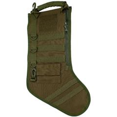 GenPro RuckUp OD Green Tactical Christmas Stocking with MOLLE Attachment