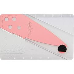 Iain Sinclair CardSharp 2 Credit Card Folding Safety Knife 2.6 inch Ice Pink Blade