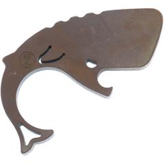 Moby Whalers 0.29 inch Thick Tumbled Bronze Titanium Moby Whaler V3 Bottle Opener
