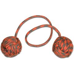 Monkey Fist Begleri KnifeCenter Exclusive 5.5 inch Orange/Gray Paracord