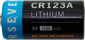 FOURSEVENS CR123A Lithium Batteries 3V 1500mAh, 50 Pack