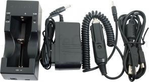 FOURSEVENS Single-Bay Smart Battery Charger