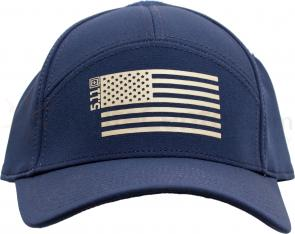 5.11 Tactical Stars & Stripes Flex Cap, Navy, M/L (89403-728)