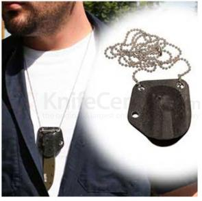 RAM Kydex Neck Sheath on Chain for Kershaw Chives
