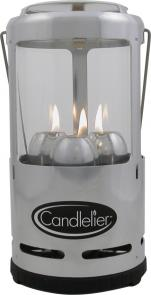 UCO Candlelier Candle Lantern, Silver Aluminum, 60 Max Lumens
