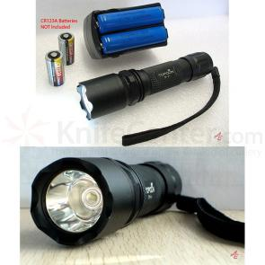AE Light Top Gun P.I. Professional Rechargeable LED 200 Lumens Tactical Flashlight