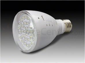 AE Light EmergiBulb LED Emergency Light Bulb, 6000K, Frosted Lens