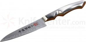 Al Mar SC4 Stainless Ultra-Chef Utility Knife 4.75 inch VG10 Damascus Blade