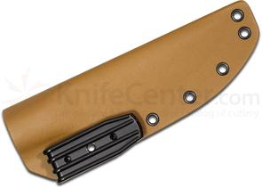 Armory Plastics Do-It-Yourself Tan Rounded Kydex Sheath Only, Fits 4-5 inch Blades