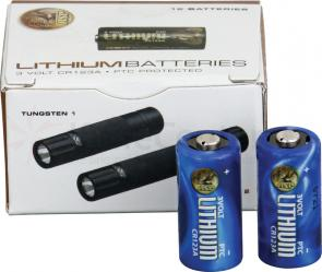ASP CR123A Lithium Battery 12-Pack