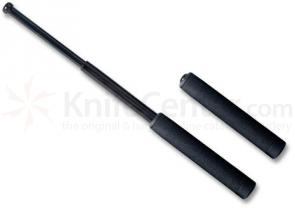 ASP 16 inch Friction Loc Foam Black Chrome Baton F16FB