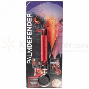 ASP Palm Defender (Red) 4 inch Keyring Baton Pepper Spray