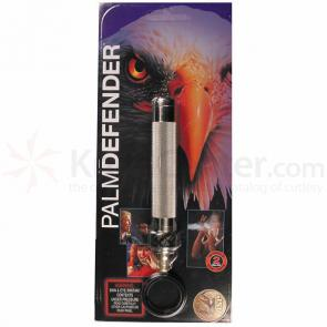 ASP Palm Defender (Electroless) 4 inch Keyring Baton Pepper Spray
