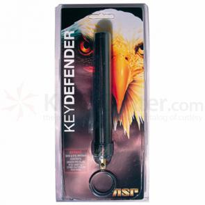 ASP Key Defender (Textured Black) 5.5 inch Keyring Baton Pepper Spray