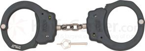 ASP Chain Handcuffs, Aluminum, Black