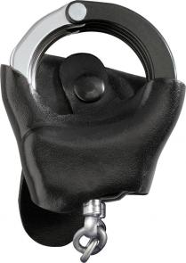 ASP Handcuff Investigator Case, Black Leather