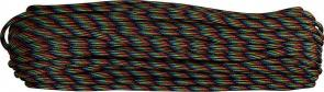 Atwood Rope 550 Paracord, Dark Stripes, 100 Feet