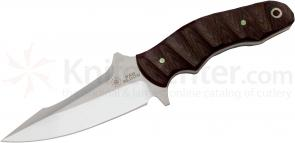 Bad Blood Knives Wisper Fixed 4 inch 8Cr14 Stainless Blade, G10 Handle, Plastic Sheath