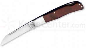 Bear & Son Rosewood Wharncliffe Lockback 3-5/8 inch Closed