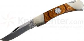Bear & Son C205 Heritage Walnut Midsize Lockback Folder 3-3/4 inch Closed