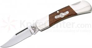Bear & Son K226E Kodiak Series Lockback Folder 2-1/4 inch Blade, Desert Ironwood Handles