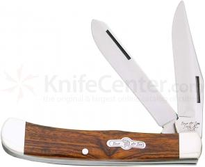 Bear & Son K254E Kodiak Series Little Trapper 4-1/8 inch Closed, Desert Ironwood Handles