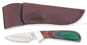 Bear & Son Invincible Skinner w/ Camowood Handle - 6.75 inch Overall