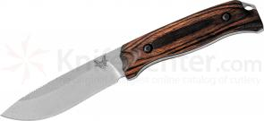 Benchmade Hunt 15001-2 Saddle Mountain Skinner Fixed 4.17 inch S30V Blade, Dymondwood Handles, Leather Sheath