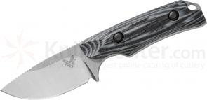 Benchmade Hunt 15016-1 Hidden Canyon Hunter Fixed 2.67 inch S30V Blade, Contoured G10 Handles, Kydex Sheath