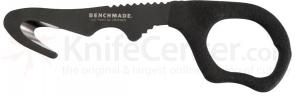 Benchmade 15 Safety Cutter Rescue Hook, 6.10 inch Overall, Hard Black Sheath