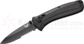 Benchmade 522SBK Presidio Ultra AXIS Lock 3.47 inch Black Combo Blade
