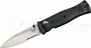 Benchmade 531 Pardue AXIS Folding Knife 3.25 inch Satin Combo Blade, G10 Handles