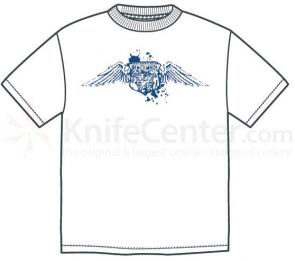 Benchmade 986386F  inchEagle Wings inch T-Shirt, 2X-Large