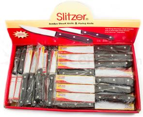 Slitzer Jumbo Steak and Paring Knife 48 Piece Bundle Pack
