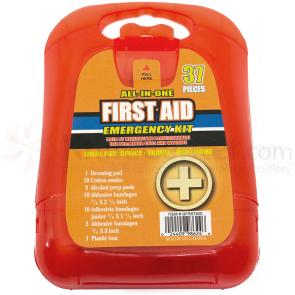 All-In-One First Aid Emergency Kit, 37 Pieces