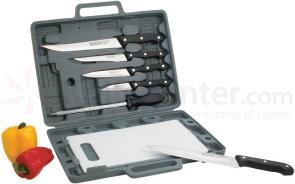 Maxam 8 Piece Knife Set with Cutting Board