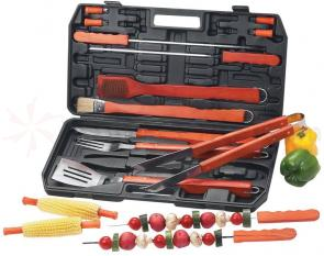 Maxam Chefmaster Deluxe 19 Piece Barbeque Set Super Size
