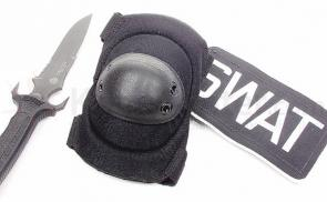 BlackHawk HellStorm Tactical Elbow Pads w/ Talon-Flex Cap Black
