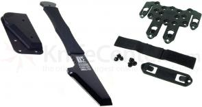 BLACKHAWK! The Small Pry 4.39 D-2 Steel Blade with S.T.R.I.K.E. Mounting Kit