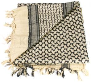 BLACKHAWK! Tactical Shemagh, Coyote Tan and Black - 330005CT