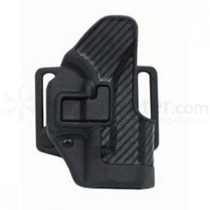 BLACKHAWK! CF Holster w/BL & Paddle, Serpa, RH, Black, Sig 220/226