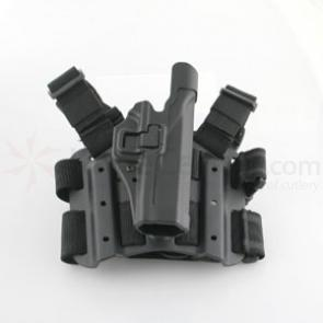 BLACKHAWK! Tac Serpa Holster Level 2, RH, Fits Glock 20/21/37/38, Black