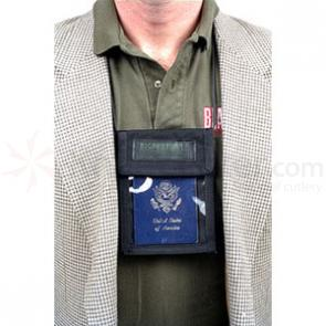 Blackhawk Neck ID Badge/Pen Holder, Black