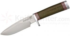 Blackjack Classic Model 125 Fixed 5 inch Blade, Green Micarta Handle