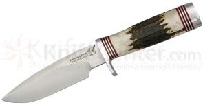 Blackjack Classic Model 125 Fixed 5 inch Blade, Sambar Stag Handle