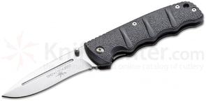 Boker Plus Automat Kalashnikov Liner Lock 70th Anniversary Folding Knife 3.375 inch CTS-XHP Satin Blade, Gunmetal Gray Aluminum Handles (NOT an Automatic)